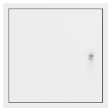 Non Fire Rated, Picture Frame, Metal Door, & Security Lock